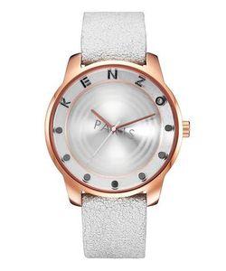Kenzo | Часы Круглой Формы С Кожаным Ремешком