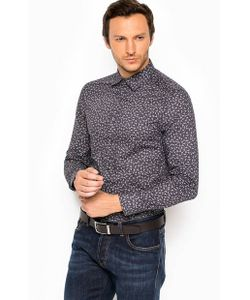 Mexx   Приталенная Хлопковая Рубашка