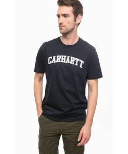 Carhartt WIP | Синяя Футболка Из Хлопка С Принтом