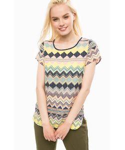Vero Moda   Разноцветная Блуза С Короткими Рукавами