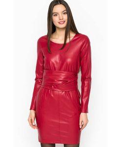 Patrizia Pepe | Короткое Однотонное Платье Из Полиуретана