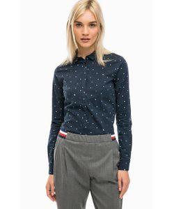 Tommy Hilfiger | Приталенная Рубашка С Коротким Воротником
