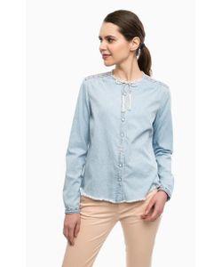 Pepe Jeans | Хлопковая Рубашка С Вышивкой