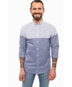 Tommy Hilfiger | Синяя Рубашка Из Хлопка В Полоску