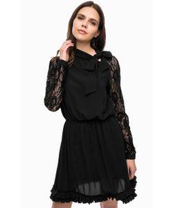 Liu •Jo | Черное Платье С Кружевными Вставками