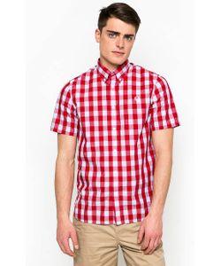Fred Perry | Рубашка С Короткими Рукавами В Клетку