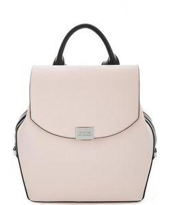 Cromia | Кожаный Рюкзак С Откидным Клапаном