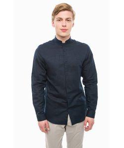 Selected | Хлопковая Рубашка Синего Цвета