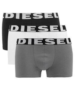 Diesel | Комплект Из Трех Хлопковых Трусов-Боксеров