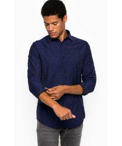 ARMANI JEANS | Приталенная Рубашка Из Хлопка