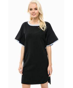 Pennyblack | Трикотажное Платье Оверсайз С Короткими Рукавами