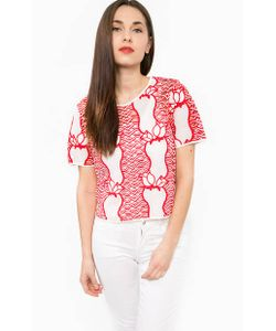 Silvian Heach | Полупрозрачная Блуза С Короткими Рукавами