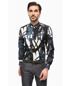 Antony Morato   Рубашка Из Хлопка С Абстрактным Принтом