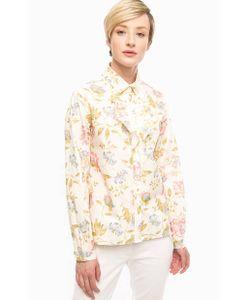 Pennyblack | Рубашка Молочного Цвета С Цветочным Принтом