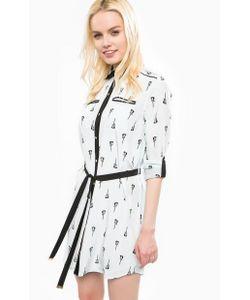 Juicy Couture | Короткое Платье-Рубашка Из Шелка