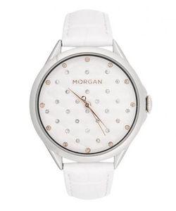 Morgan | Часы С Кожаным Браслетом С Выделкой Под Рептилию