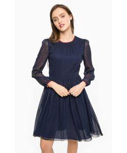 Tommy Hilfiger | Шелковое Платье С Длинными Рукавами