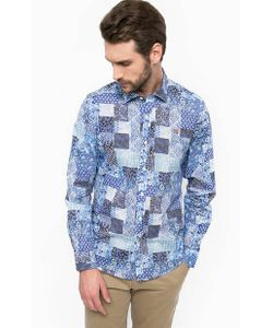 Napapijri | Хлопковая Рубашка С Приталенным Кроем