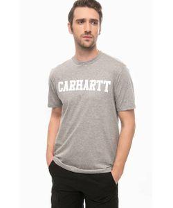 Carhartt WIP | Футболка Из Хлопка С Принтом