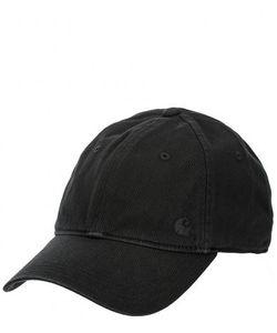 Carhartt WIP | Черная Бейсболка С Вышитым Логотипом Бренда