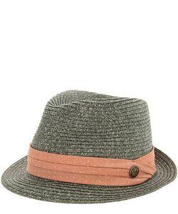 Goorin Bros. | Плетеная Шляпа С Лентой Кораллового Цвета
