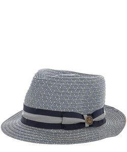 Goorin Bros. | Плетеная Шляпа С Широкой Синей Лентой