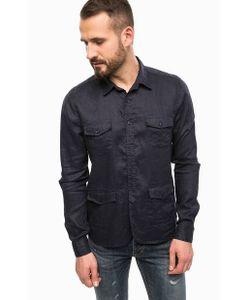 Gaudi | Льняная Рубашка С Длинными Рукавами