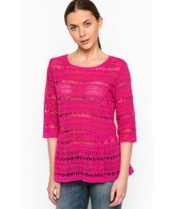 Pinko | Ажурная Блуза Из Хлопка