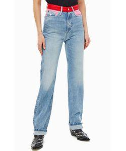 5da1b662fd0 Calvin Klein Jeans - Прямые Джинсы С Высокой Посадкой Ckj 030