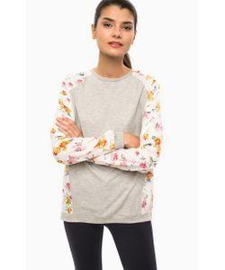 Alcott | Трикотажная Блуза С Цветочным Принтом