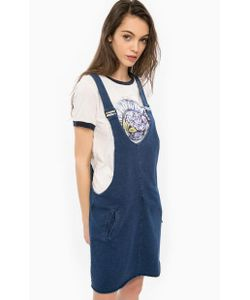 Pepe Jeans | Короткое Платье Из Хлопка На Бретелях