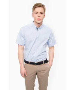 LERROS | Голубая Хлопковая Рубашка