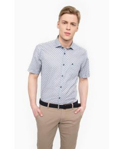 LERROS | Хлопковая Рубашка С Короткими Рукавами