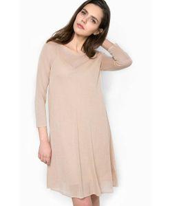 Patrizia Pepe | Платье Из Вискозы Со Съемной Подкладкой