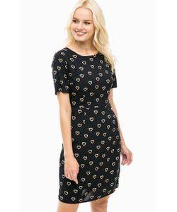Sugarhill Boutique | Черное Платье Из Вискозы С Хлопковой Подкладкой