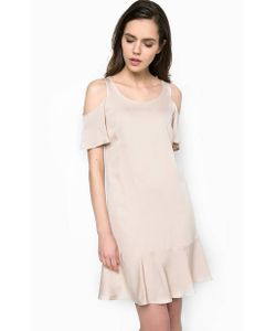 Patrizia Pepe | Платье Из Вискозы С Открытыми Плечами