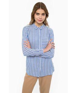 ICHI | Рубашка Из Вискозы С Нагрудным Карманом