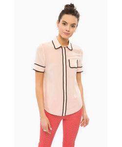 Patrizia Pepe | Шелковая Блуза С Короткими Рукавами