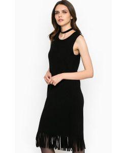 Miss Sixty | Платье Без Рукавов С Бахромой