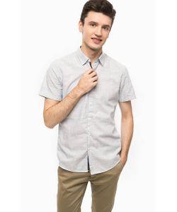 Tom Tailor Denim | Голубая Рубашка С Короткими Рукавами