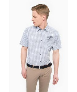 LERROS | Хлопковая Рубашка С Вышивкой
