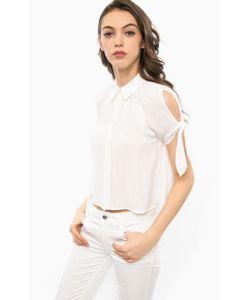 Guess | Укороченная Блуза С Короткими Рукавами