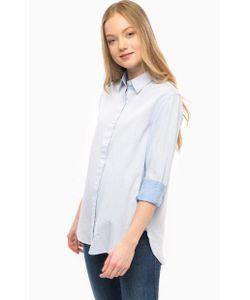 Wrangler | Голубая Хлопковая Рубашка
