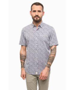 PIERRE CARDIN. | Хлопковая Рубашка С Короткими Рукавами