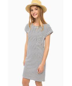 LERROS | Платье Из Хлопка С Нагрудным Карманом