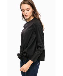 Cinque   Черная Блуза С Застежкой На Спинке