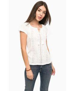 Mavi | Блуза Из Хлопка С Ажурными Вставками