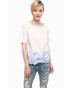 Pois | Трикотажная Блуза С Бантом