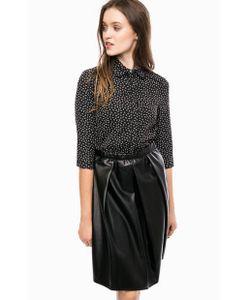 Kocca | Черное Платье С Отложным Воротничком