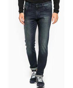 Calvin Klein Jeans | Зауженные Джинсы С Эффектом Делаве